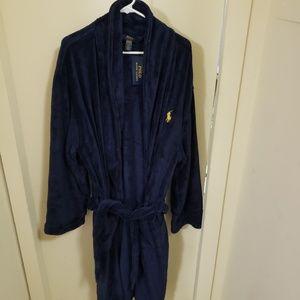 Men's polo robe